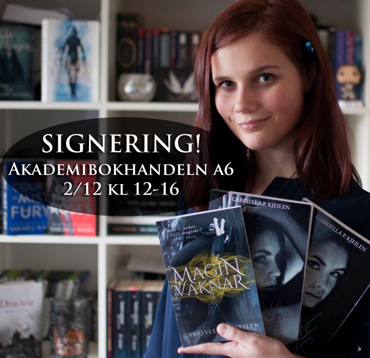 signeringsaffisch